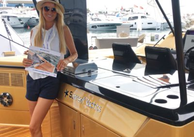 Cannes Hostess Agency - Bonjour Hôtesses at Cannes Yachting Festival 2019